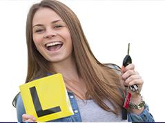 Learner driver passing their driving test